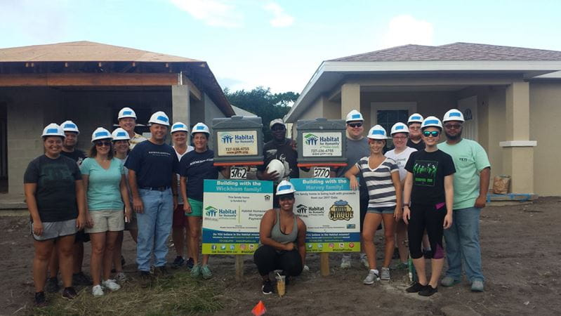 Habitat for Humanity – Group Photo
