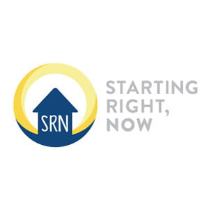 Starting Right, Now Logo